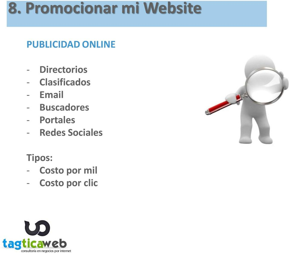 Email - Buscadores - Portales - Redes