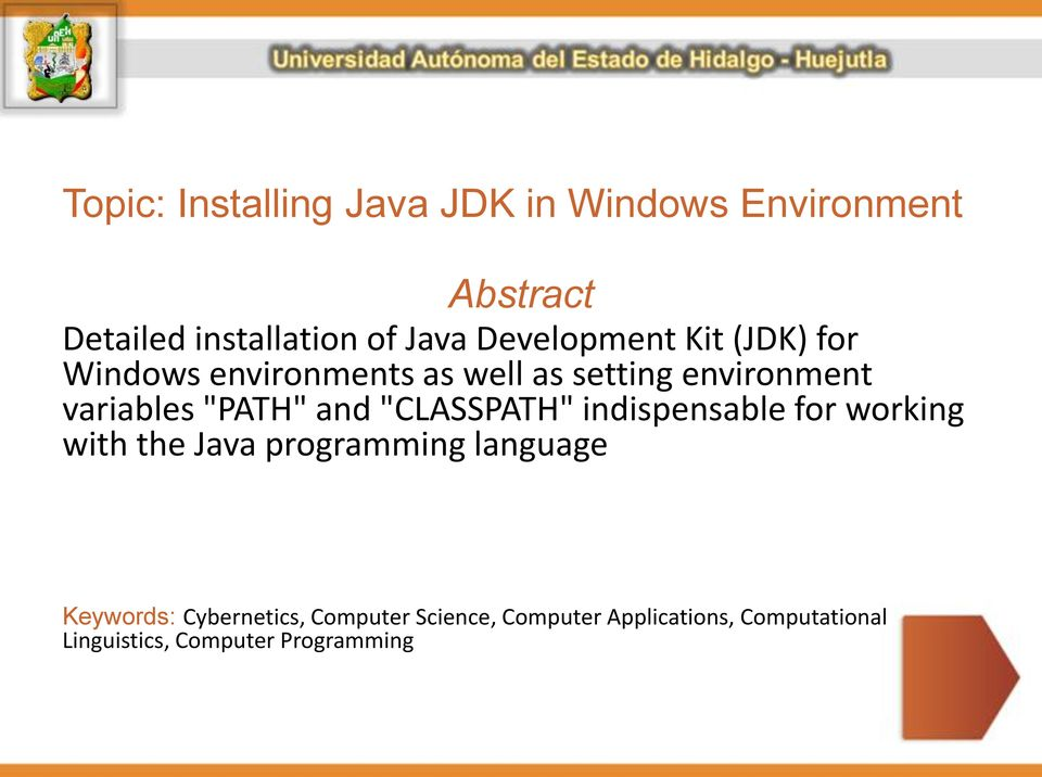 """PATH"" and ""CLASSPATH"" indispensable for working with the Java programming language"