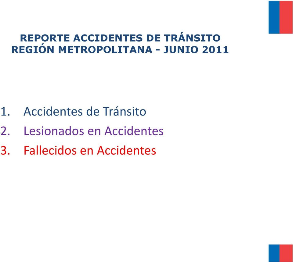 Accidentes de Tránsito 2.