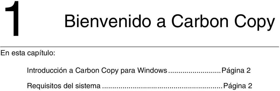 Carbon Copy para Windows.