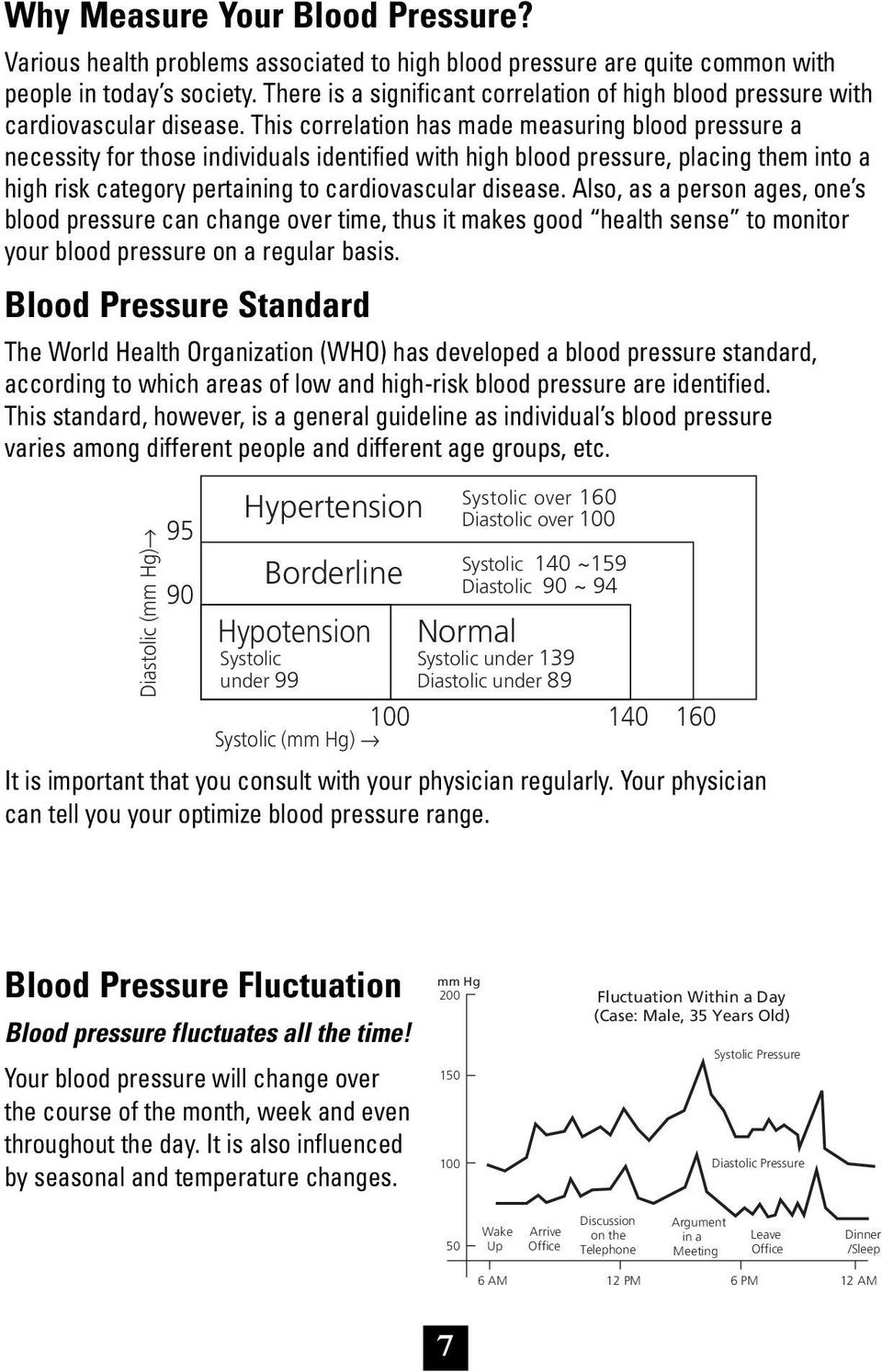 This correlation has made measuring blood pressure a necessity for those individuals identified with high blood pressure, placing them into a high risk category pertaining to cardiovascular disease.