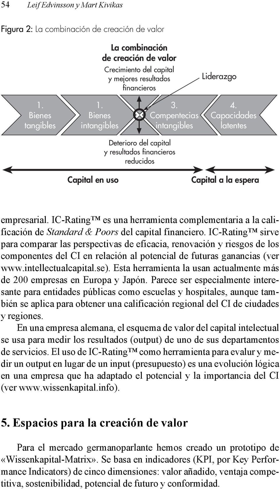 IC-Rating es una herramienta complementaria a la calificación de Standard & Poors del capital financiero.