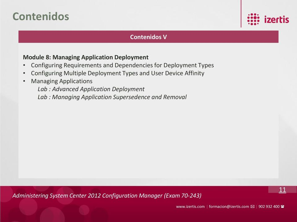Multiple Deployment Types and User Device Affinity Managing Applications Lab