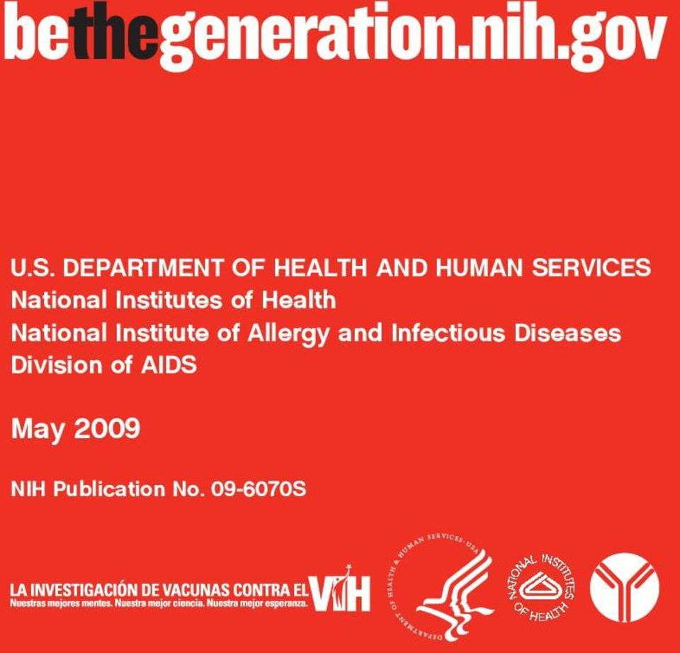 Institutes of Health National Institute of Allergy