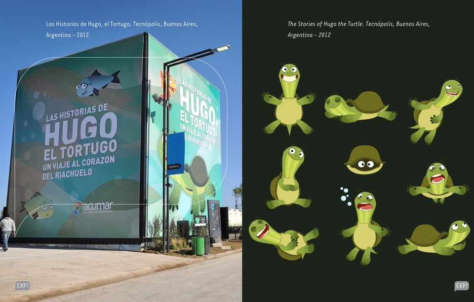 2012 The Stories of Hugo the Turtle.