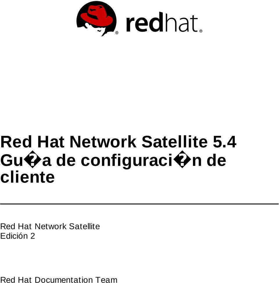 cliente Red Hat Network