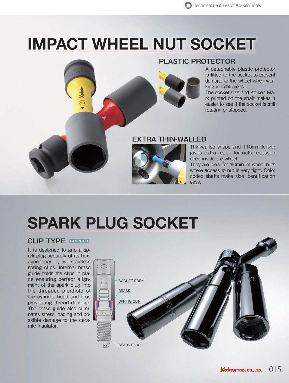 WHEEL NUT SOCKET SPARK