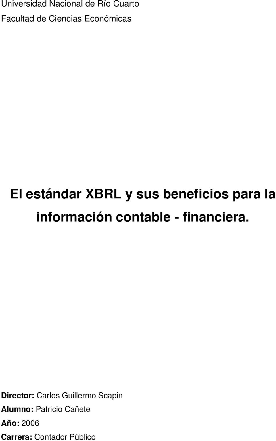 información contable - financiera.
