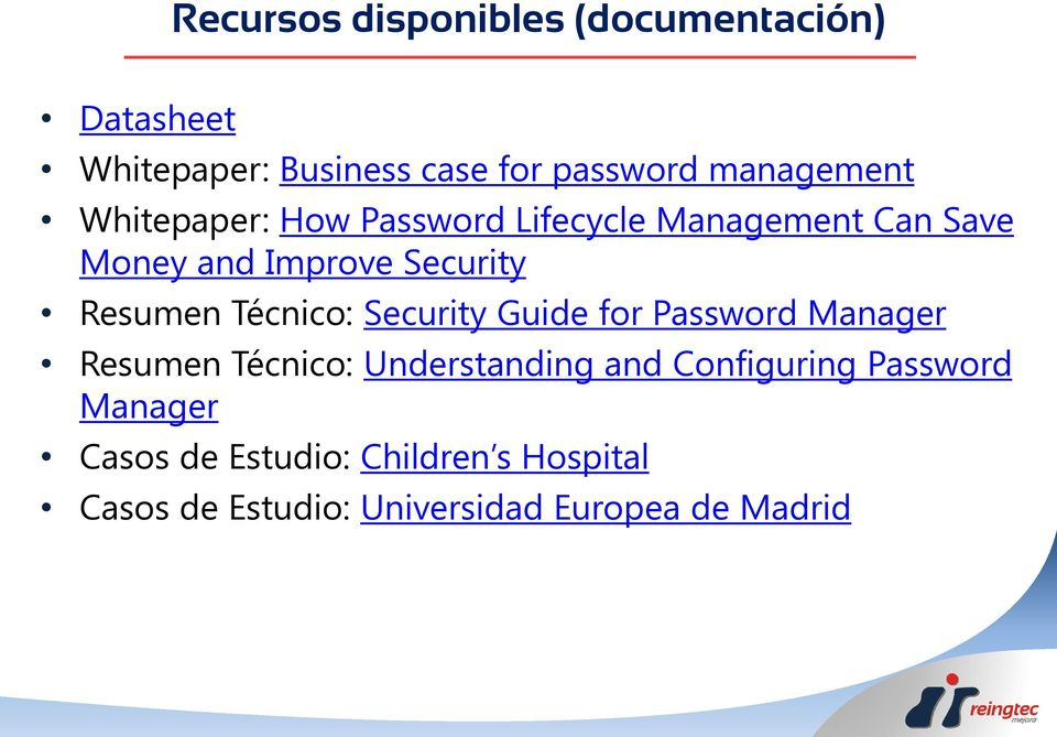 Resumen Técnico: Security Guide for Password Manager Resumen Técnico: Understanding and