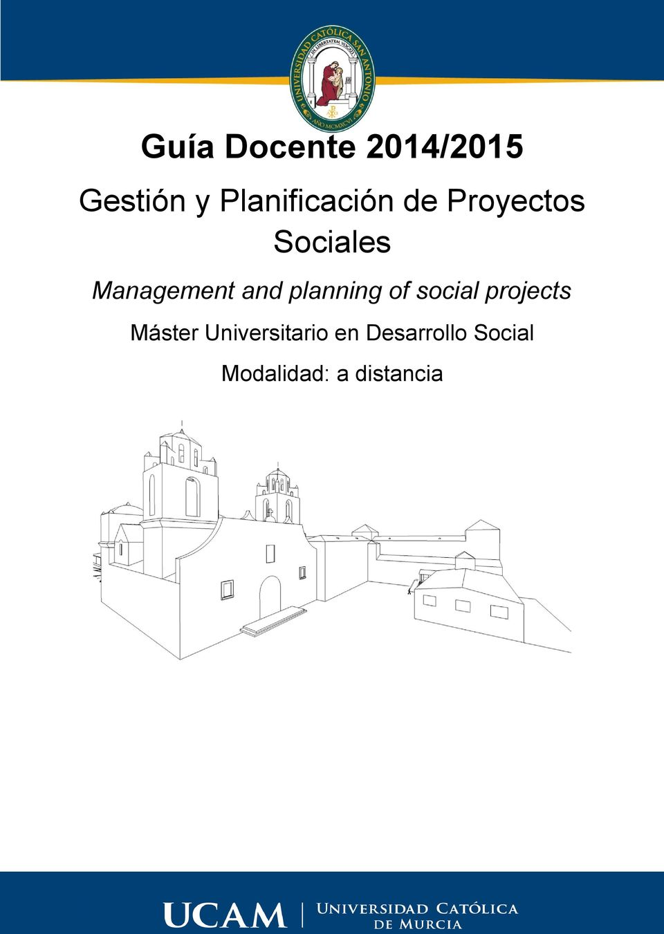 Management and planning of social projects