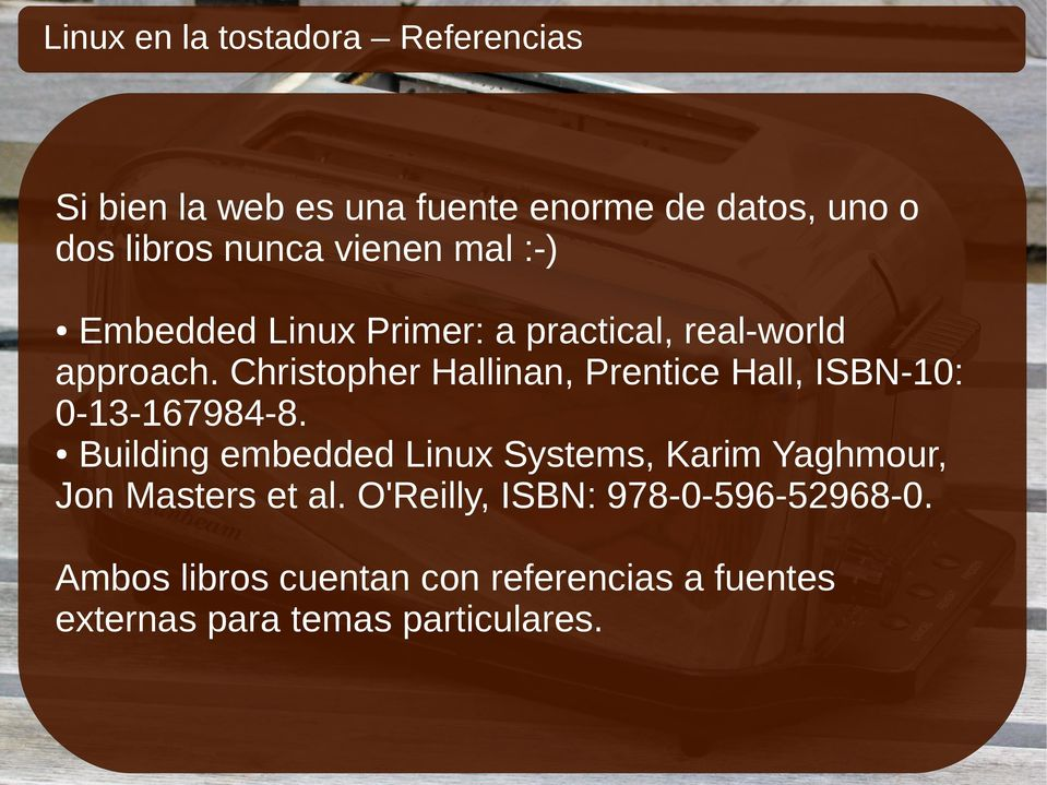 Christopher Hallinan, Prentice Hall, ISBN-10: 0-13-167984-8.