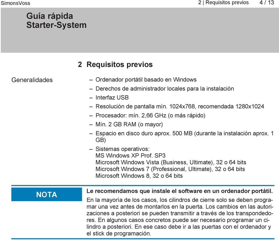 1 GB) Sistemas operativos: MS Windows XP Prof.