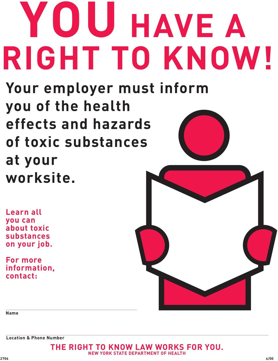 substances at your worksite.