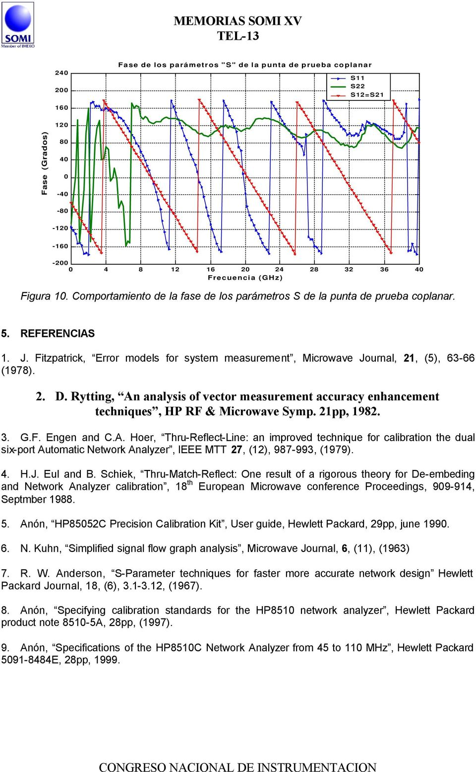 Rytting, An analysis of vector measurement accuracy enhancement techniques, HP RF & Microwave Symp. 21pp, 1982. 3. G.F. Engen and C.A. Hoer, Thru-Reflect-Line: an improved technique for calibration the dual six-port Automatic Network Analyzer, IEEE MTT 27, (12), 987-993, (1979).