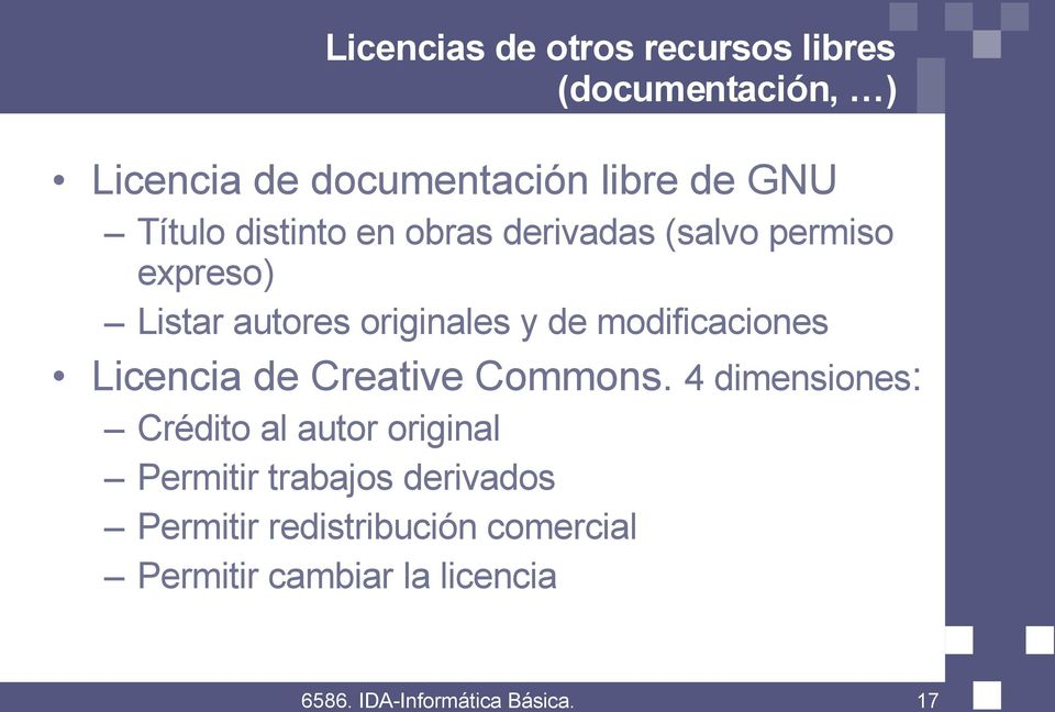 de modificaciones Licencia de Creative Commons.