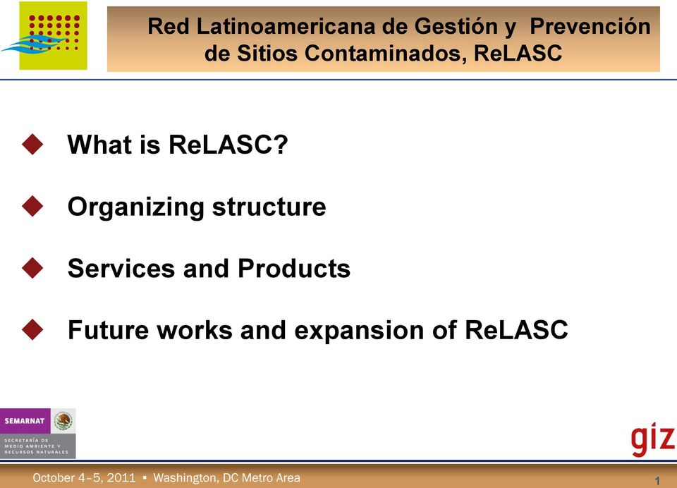 ReLASC What is ReLASC?