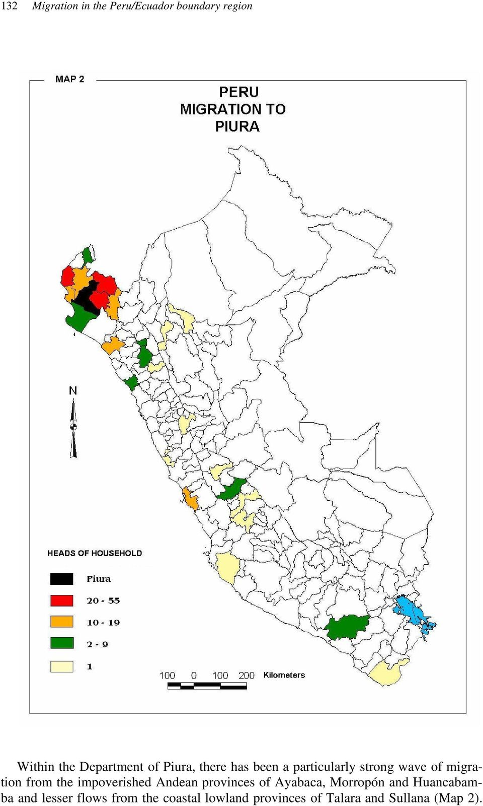 impoverished Andean provinces of Ayabaca, Morropón and Huancabamba and