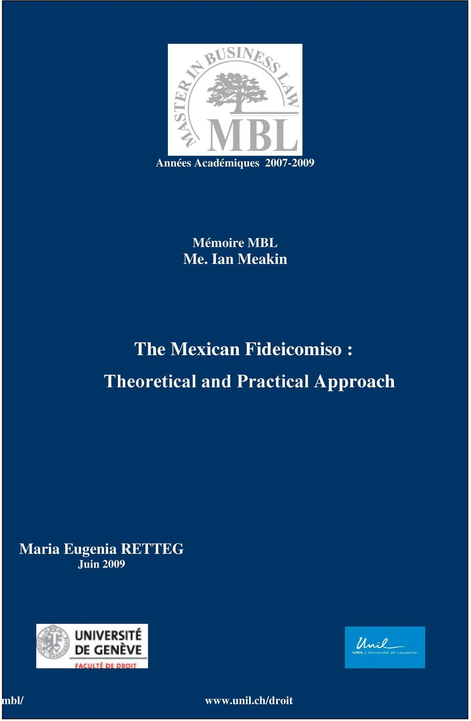 Theoretical and Practical Approach Maria
