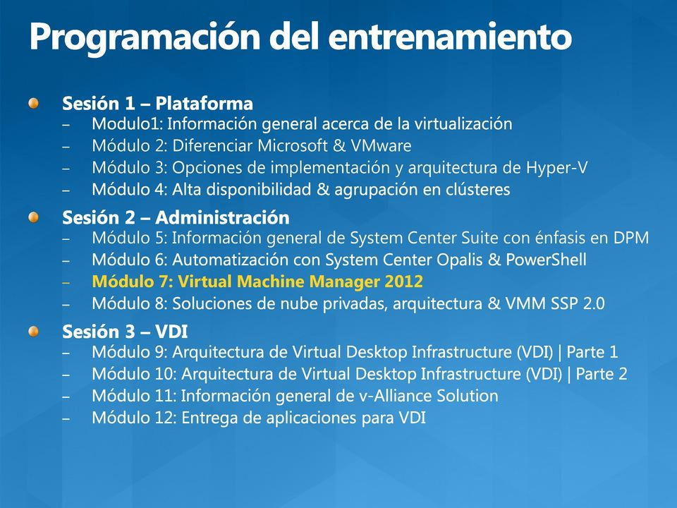 Módulo 5: Información general de System Center Suite