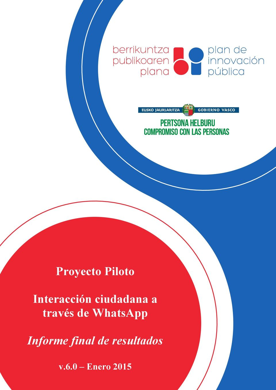 través de WhatsApp