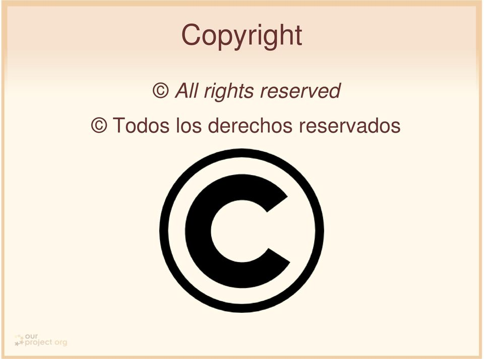 reserved Todos
