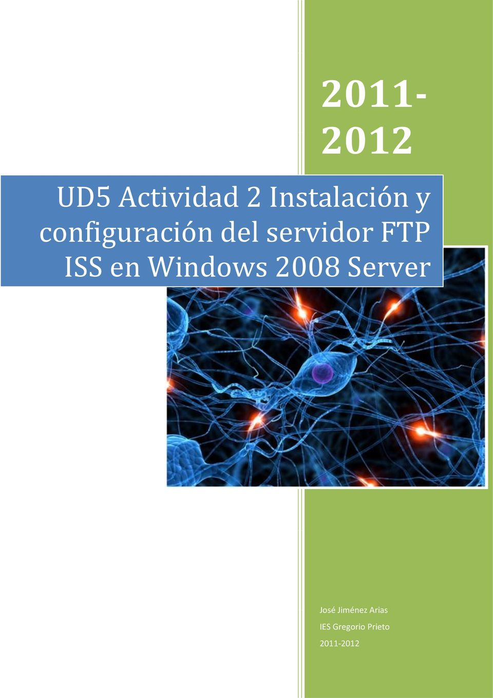 servidor FTP ISS en Windows 2008