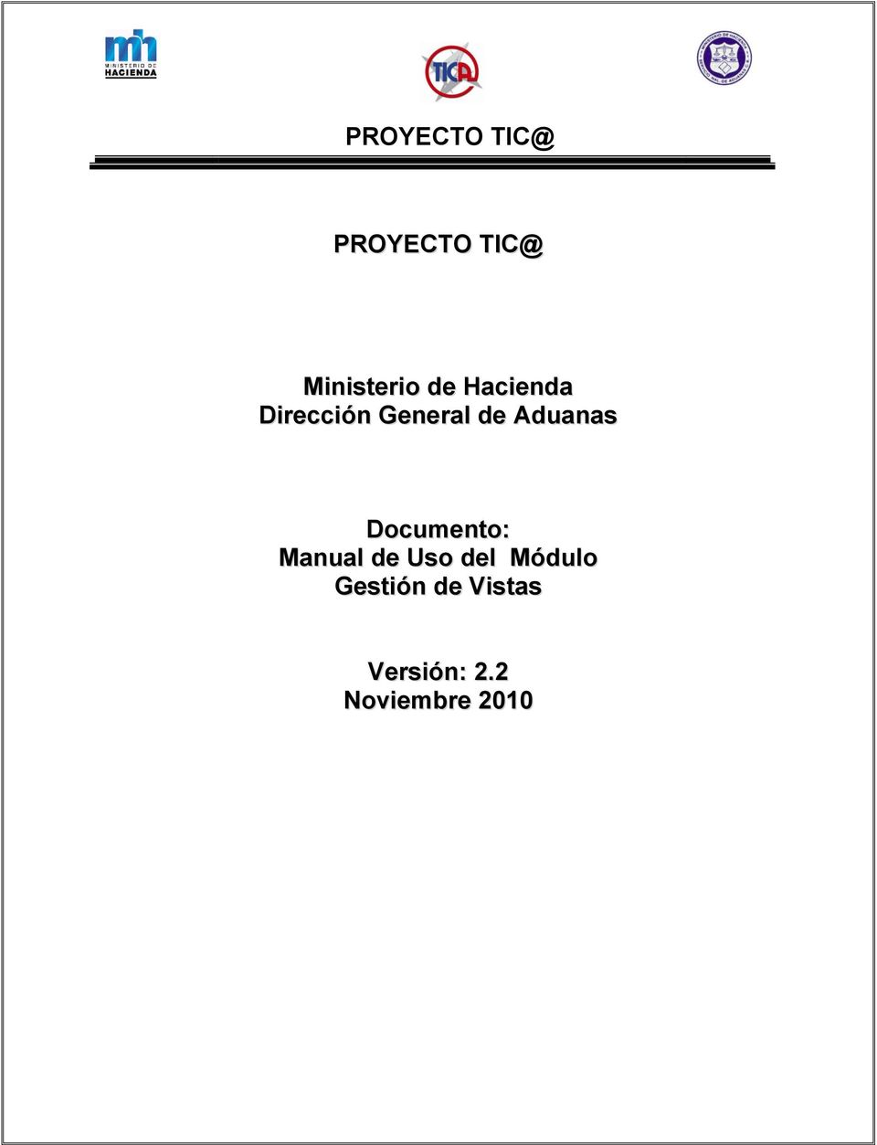 Documento: Manual de Uso del Módulo