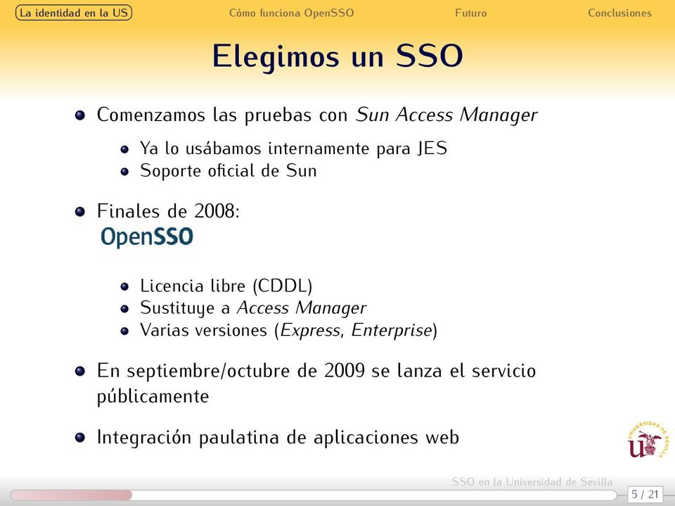 Sustituye a Access Manager Varias versiones (Express, Enterprise) En