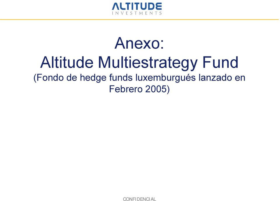 de hedge funds