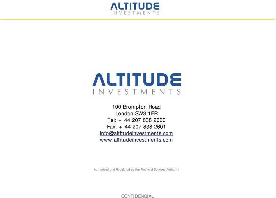 info@altitudeinvestments.com www.
