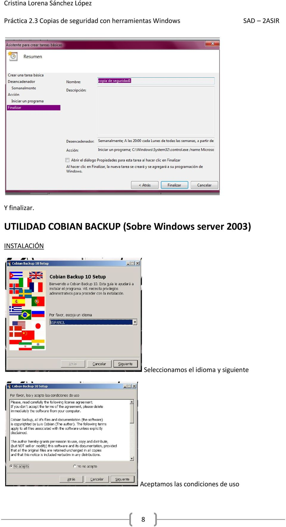 Windows server 2003) INSTALACIÓN