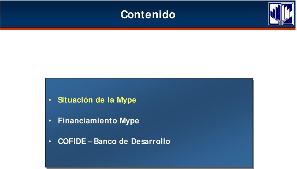 Financiamiento Mype