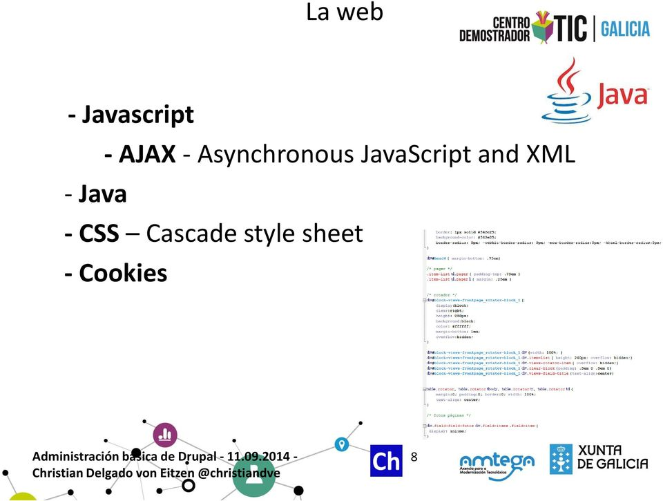 and XML - Java - CSS
