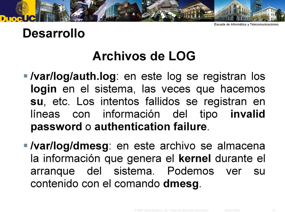 Los intentos fallidos se registran en líneas con información del tipo invalid password o