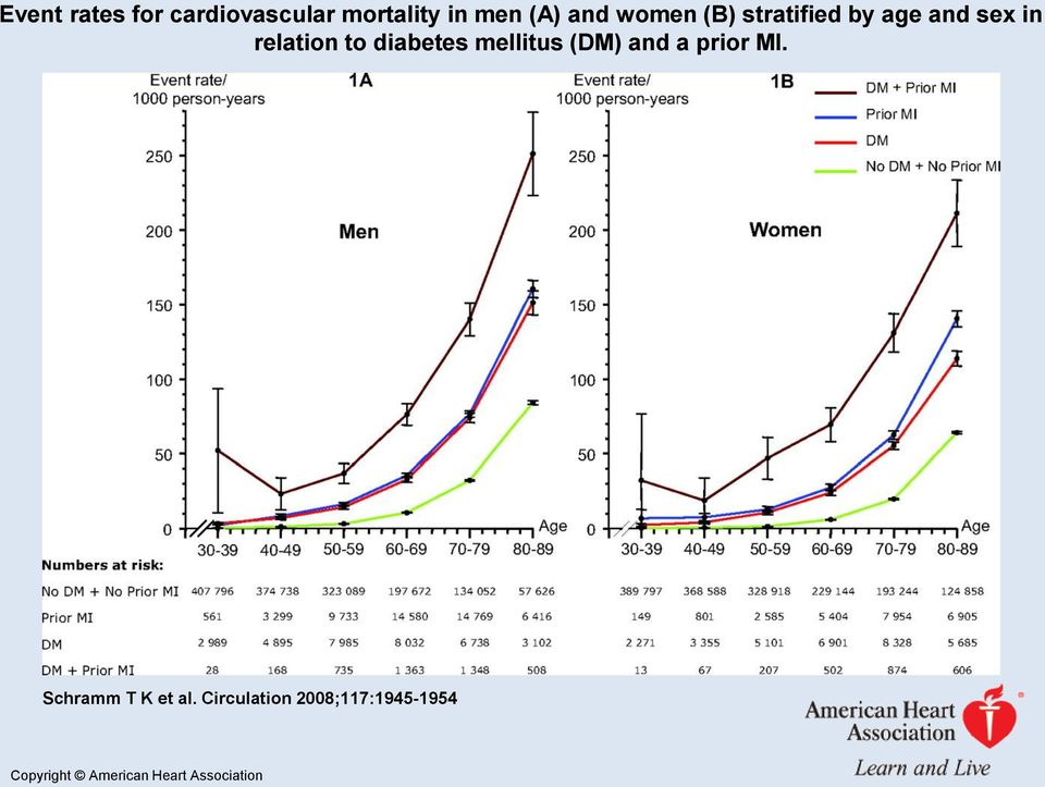 diabetes mellitus (DM) and a prior MI. Schramm T K et al.