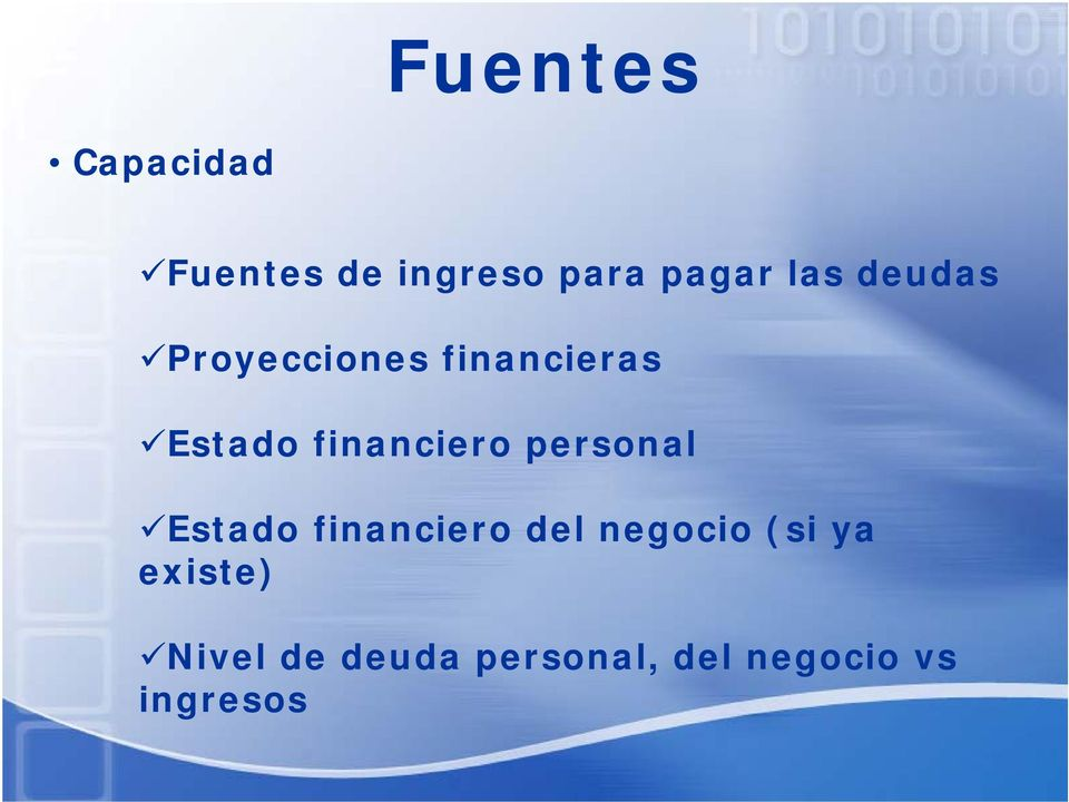 financiero personal Estado financiero del