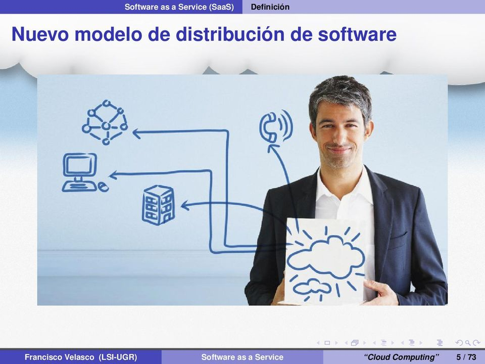 distribución de software Francisco