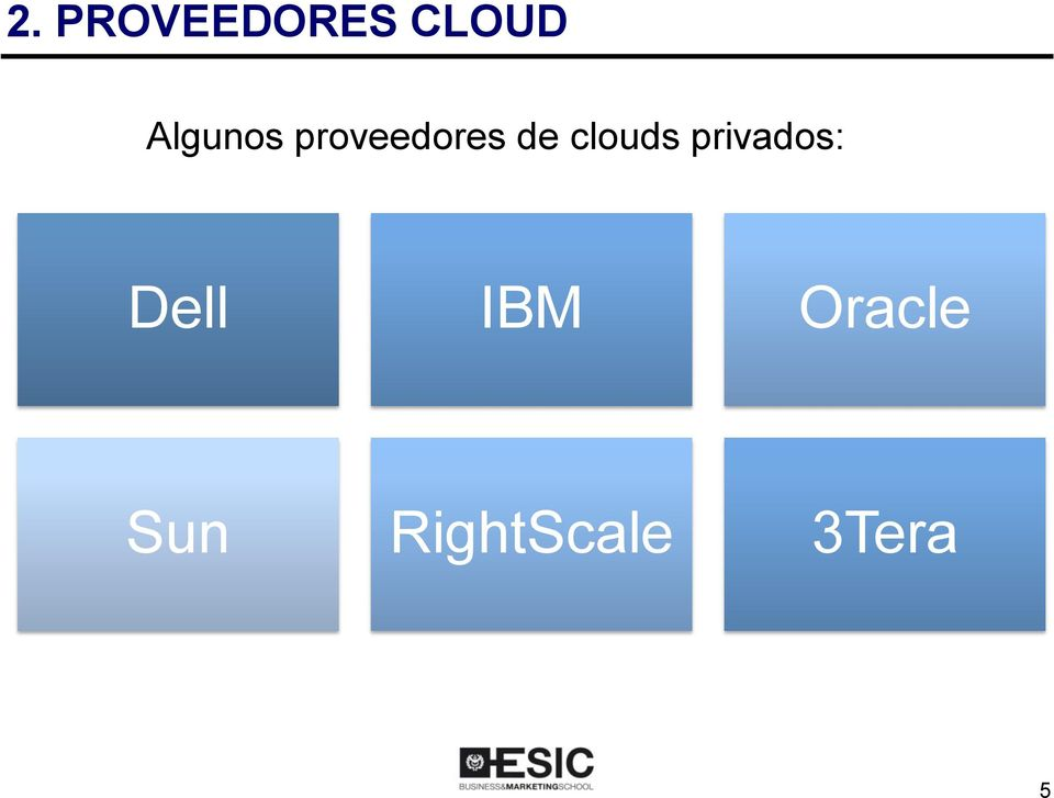 clouds privados: Dell