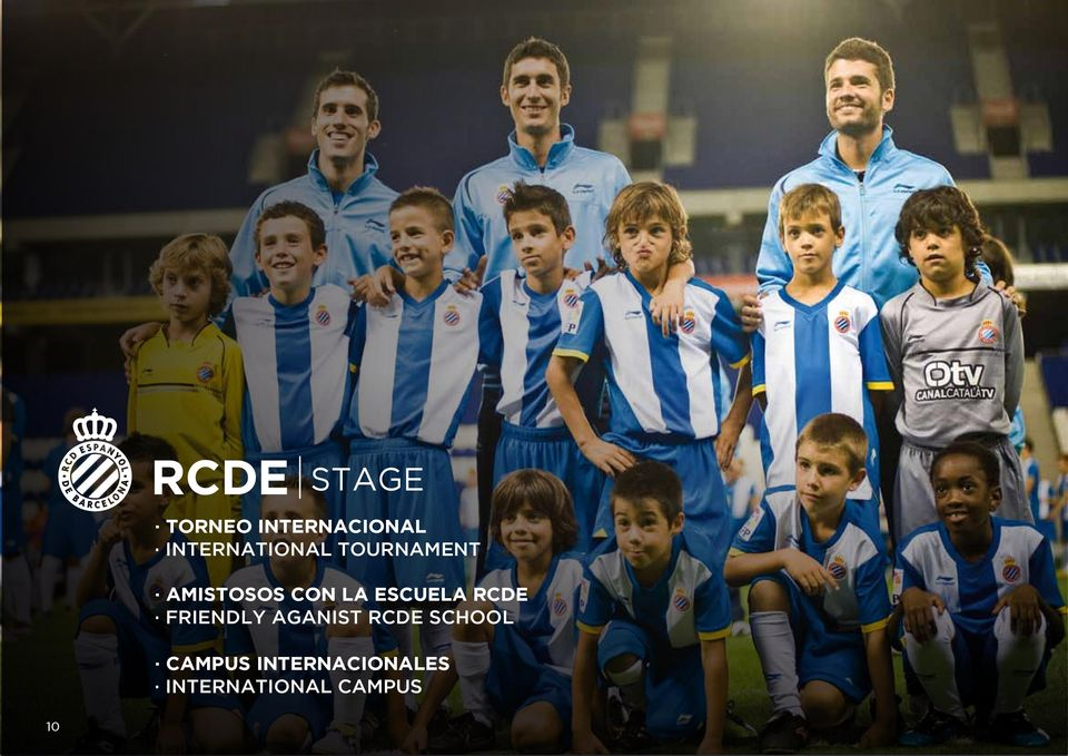 RCDE FRIENDLY AGANIST RCDE SCHOOL