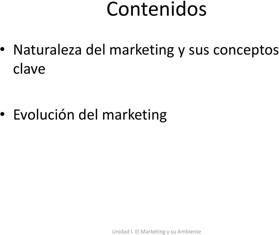marketing y sus