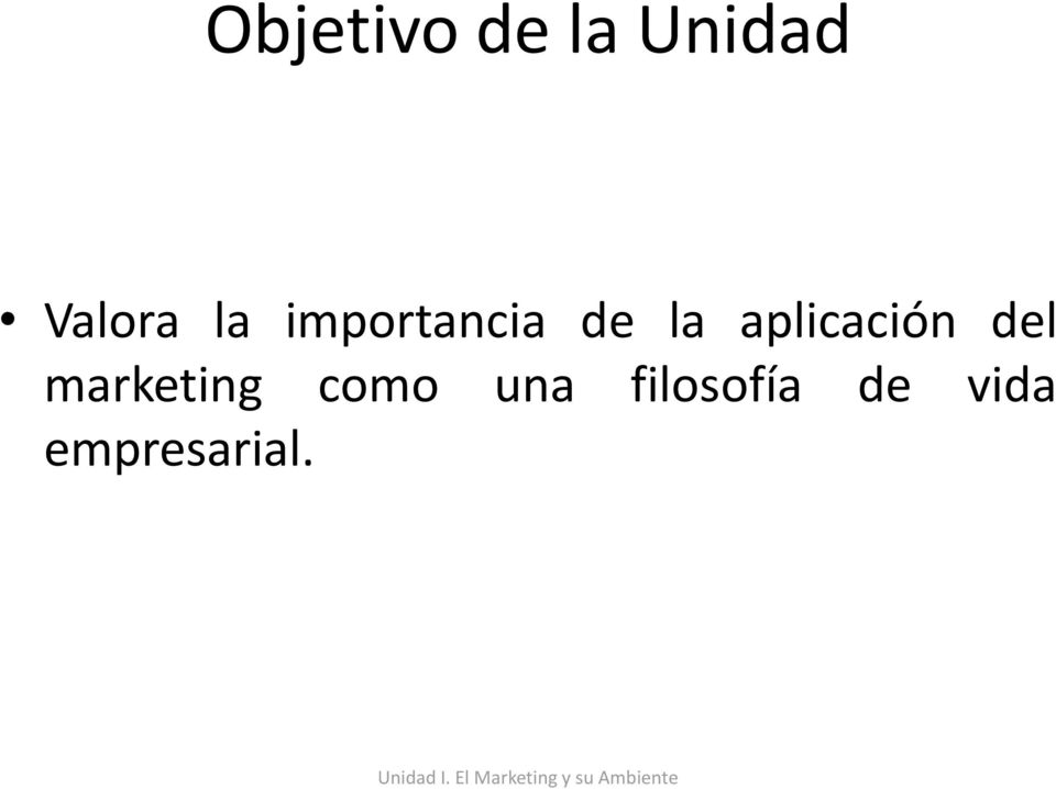 aplicación del marketing