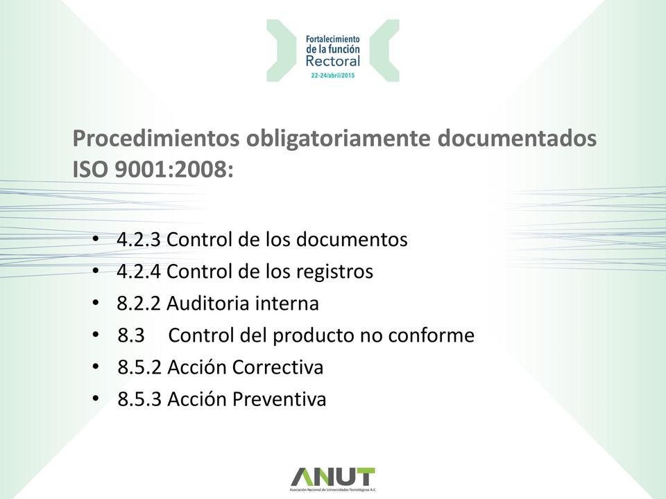 2.2 Auditoria interna 8.
