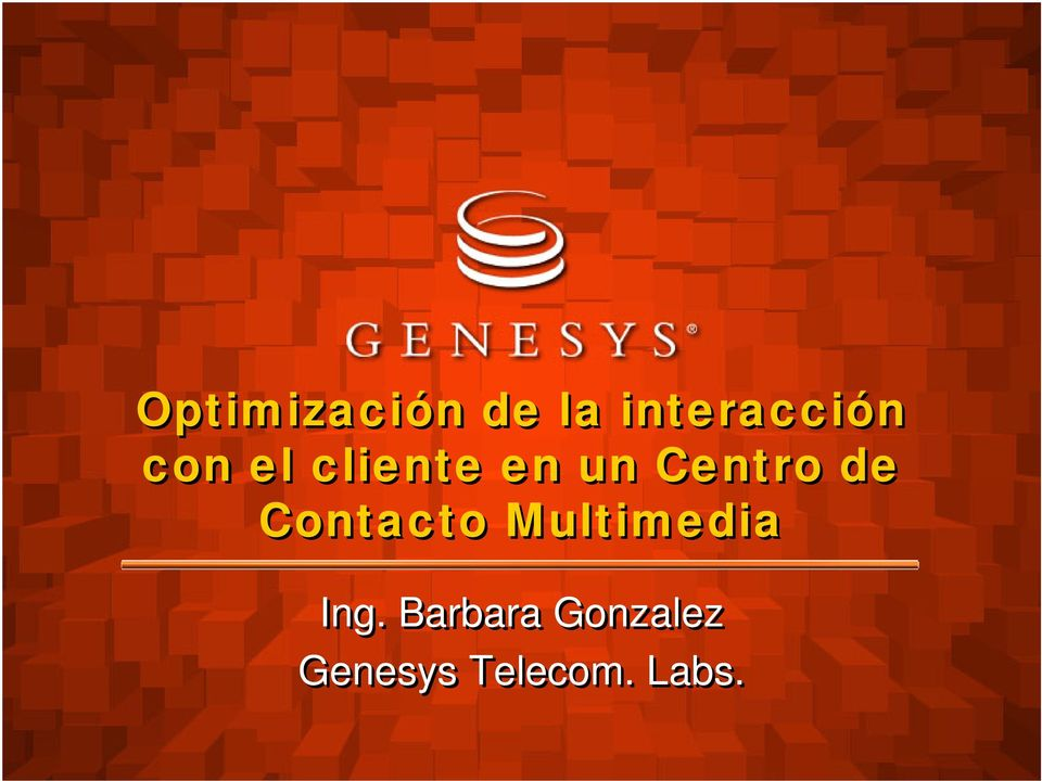 Contacto Multimedia Ing.