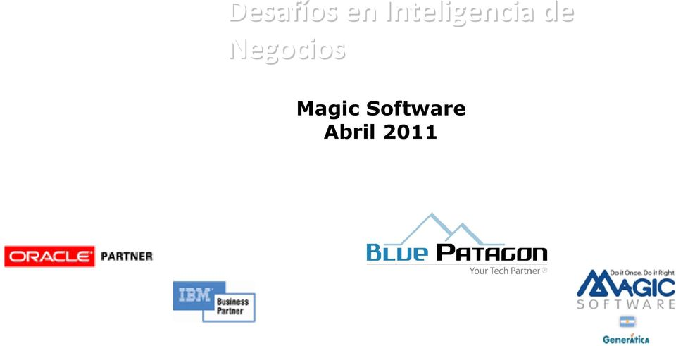 Negocios Magic