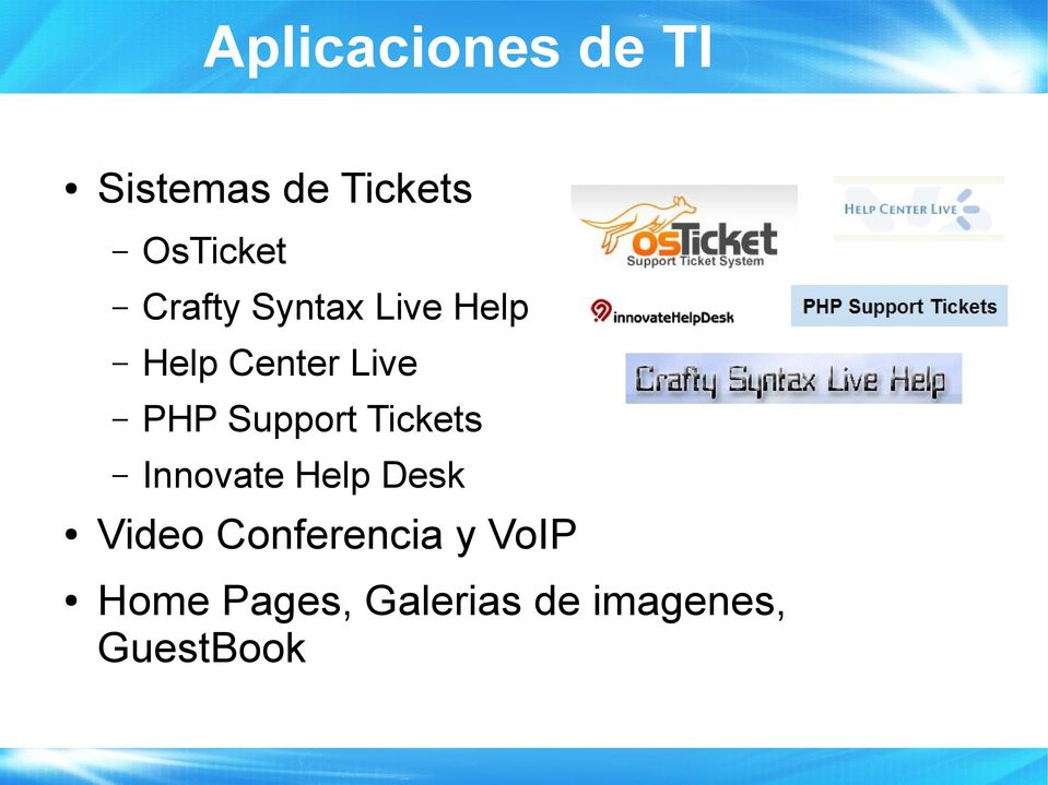 Support Tickets Innovate Help Desk Video