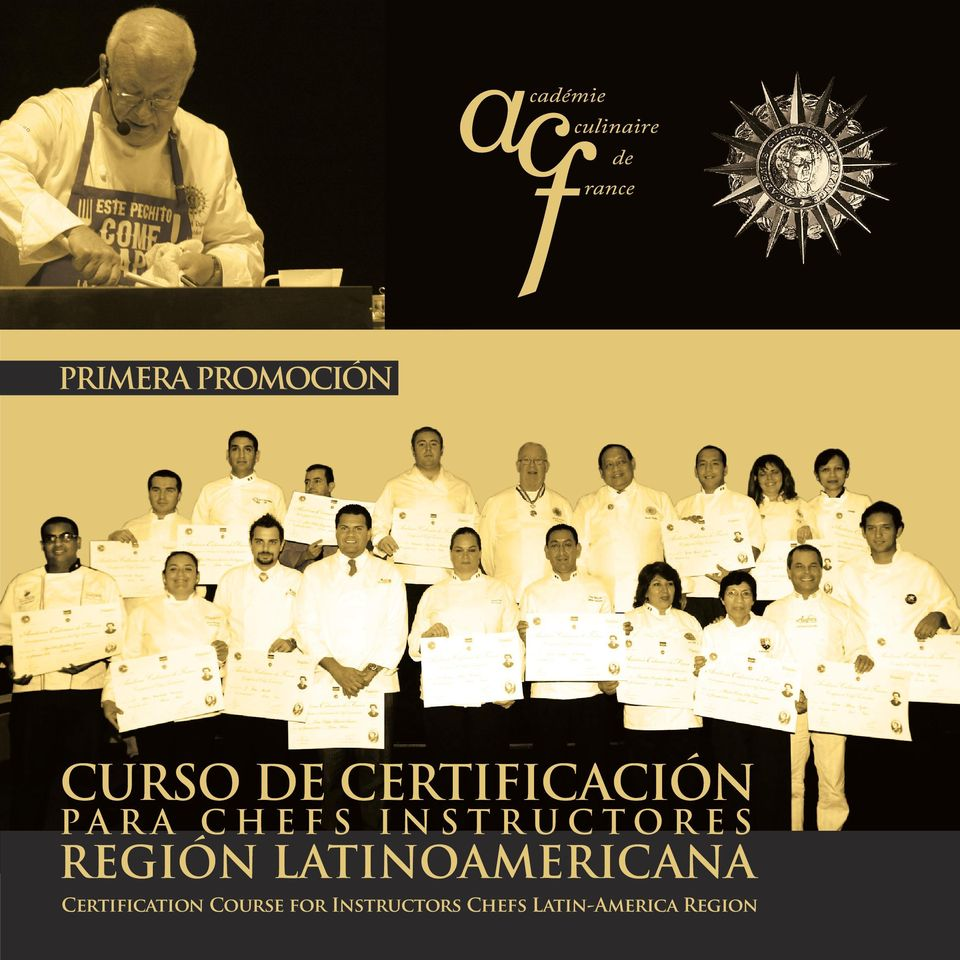 REGIÓN LATINOAMERICANA Certification