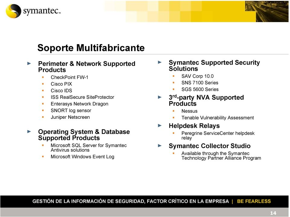 Event Log Symantec Supported Security Solutions SAV Corp 10.