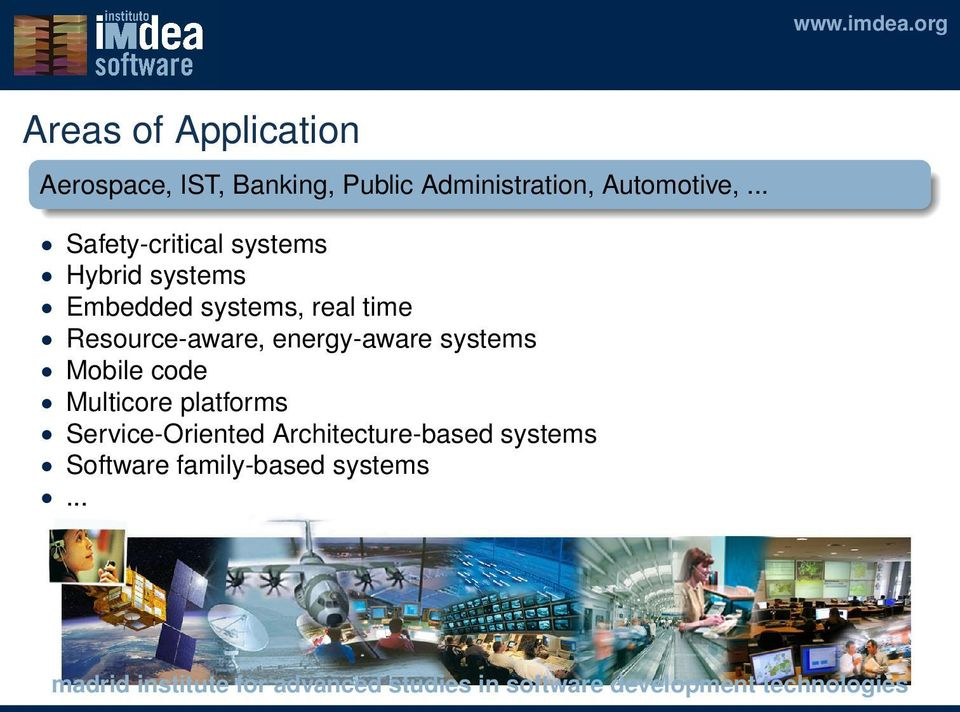 .. Safety-critical systems Hybrid systems Embedded systems, real time