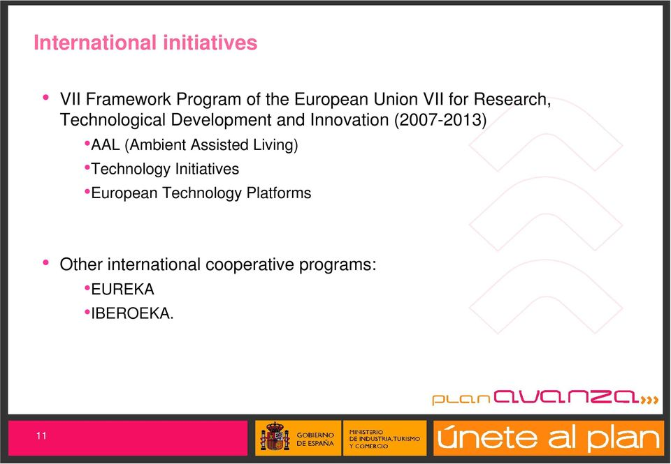 AAL (Ambient Assisted Living) Technology Initiatives European