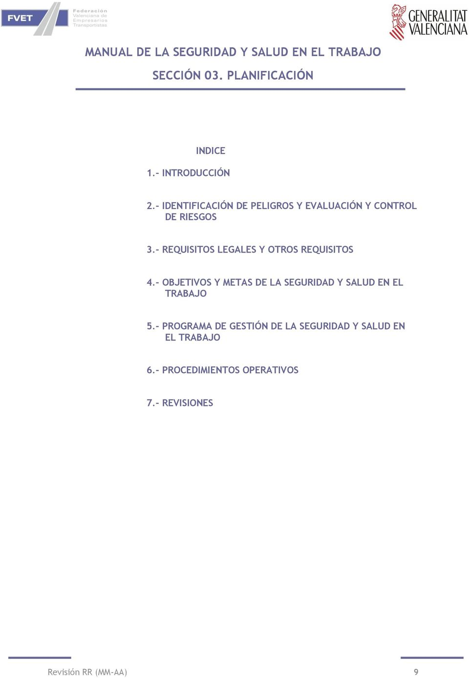 - REQUISITOS LEGALES Y OTROS REQUISITOS 4.